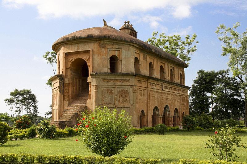 beautiful ranghar and its surroundings
