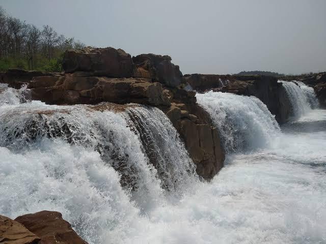 Panimur waterfall in Haflong