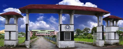 Dibrugarh University Administrative Building